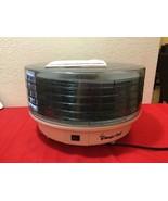 Magic Chef  Food Dehydrator- 5 adjustable Tray 469-1 - $40.00