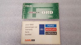 FORD PASS 1968 Owners Manual 15780 - $16.88