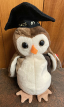 TY Beanie Baby Collection WISE THE OWL Class of 07 98  MINT MULTIPLE ERRORS - $39.60