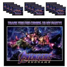 AVENGERS Stickers Party Favors Supplies Gift Bag Labels STICKERS ONLY 12... - $12.82