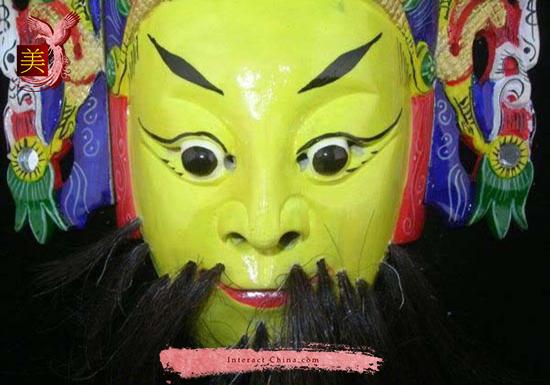 Chinese Drama Home Wall Décor Opera Mask 100% Wood Craft Folk Art #110 Pro