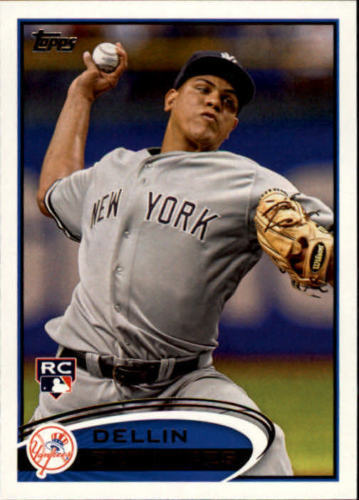 2012 Topps #252 Dellin Betances RC Rookie Card > New York Yankees