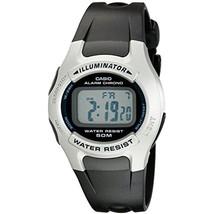 Casio W-42H-1A Men's Resin Band Illuminator Alarm Chronograph LCD Digita... - $26.25