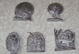 Nightmare Before Christmas Fashion Victim Pewter set of 5 figurines Disn... - $99.99