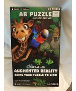 Dream Lab AR Puzzle Augmented Reality Bring Your Puzzle to Life! 24pcs - $1.24