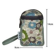 Light Green Clutch Bag Coin Purse Canvas Bag Creative Card Bag Storage Holder
