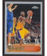 KOBE BRYANT Rookie Card RP #138 Lakers RC 1996 T Chrome Free Shipping - $2.99