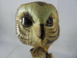 """Vintage BARN OWL Figurine Bird Ceramic Model Hand Painted JAPAN 6""""1/2 Tall image 3"""