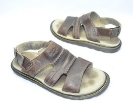Mens Dr Martens Sandals Size 11 US Brown Leather Excellent Barely Used C... - $30.06 CAD
