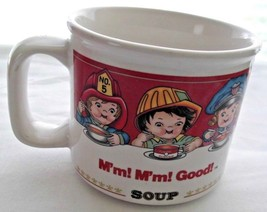 Vintage Campbell Soup Mug with 6 Children Pictured by Westwood - $5.83