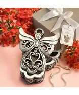 Angel Design Curio Box Set of 12 Christening Religious Party Favors Gift - $58.41
