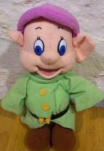 "Mattel Disney Snow White DOPEY THE DWARF 11"" Plush Stuffed Animal - $19.80"
