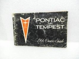 PONTIAC   1966 Owners Manual 16123 - $18.76
