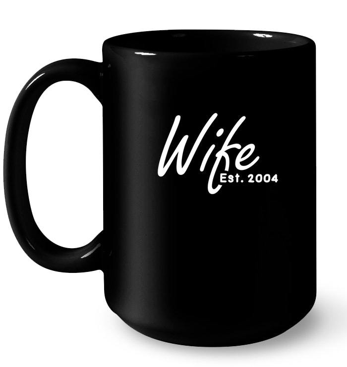 14th Year Wedding Anniversary Gift: 14th Wedding Anniversary Gift For Her Wife Est 2004 Gift