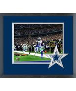 Jaylon Smith 2018 Dallas Cowboys Action -11x14 Team Logo Matted/Framed P... - $43.55