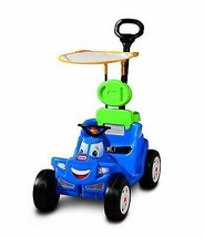 Kids Ride On Carrier Push Pull Truck w/ Sun Shade Indoor Outdoor Boys NEW - $58.36