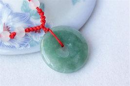 Free Shipping - Green Jadeite Jade Button , perfect 100% Grade AAA Natural Green - $20.00