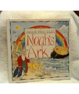 Noah's Ark 1997 Children's Book Usborne Bible Tales Heather Amery Norman... - $11.39
