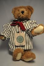 Boyds Bears & Friends: Churchill - 12 Inch Plush Bear - Striped Shirt - Bearwear - $14.78