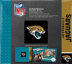NFL Jacksonville Jaguars Football Scrapbook 8 x 8 Photo Album NEW - $239,74 MXN