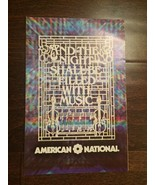 VTG American National Bank Magazine And the Night Shall be Filled With M... - $4.94