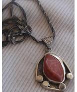 Blood stone pendant hand made MT16 - $48.00