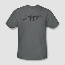 The Untouchables Tommy Gun T-shirt retro 1990's movie cotton graphic tee PAR419 image 2