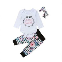 Matching Outfits Big Sister Tee T-shirt Little Sister Floral Romper Jump... - $12.07+