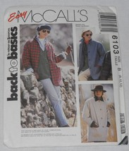 Vintage 1992 Easy McCalls 6103 Jackets Size B 8, 10, 12  Goes up to Sz 2... - $6.25