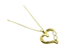 Infinity Heart Link Necklace - $11.95