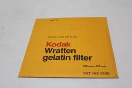 """Kodak 149 8328  Wratten Filter 125MM 5"""" SQ Gel Filter No. 15 Deep Yellow New - $59.39"""