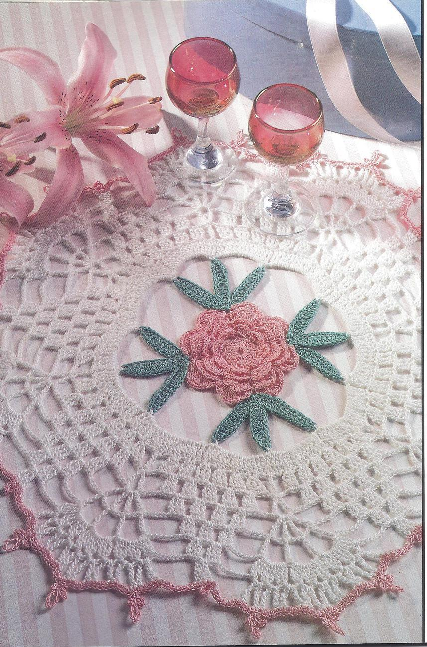 Crochet Stitches Decorative : Decorative Crochet Magazine #43~29 Patterns - Patterns-Contemporary