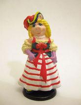 Miss Piggy Muppet Treasure Island Pvc Figure Vintage Applause Pirate Plastic - $10.99