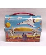 Astronaut Dome Lunch Box Thermos Vintage Metal Lunchbox - $224.95