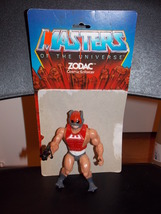 Vintage 1982 Masters Of The Universe Zodac Figure With Weapon and Cardback - $19.99