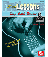 First Lessons Lap Steel Guitar  - $9.99