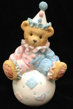 Cherished Teddies Wally Figurine Clown on Ball You're Tops With Me NIB 1... - $7.91