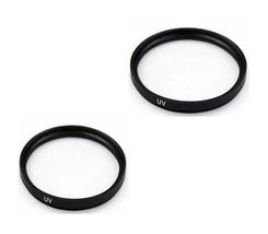 Two 2 UV Filters for Sony DCR-TRV20 DCR-TRV20E DCRSX85/E DCR-TRV250E DCR... - $10.31
