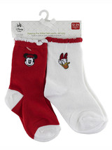 Disney Store Baby Girls Minnie Mouse & Daisy Duck 2-Pack Socks Set, 12-2... - $6.50