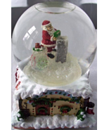 LIGHTED CRYSTAL MUSICAL WATER GLOBE - $20.00