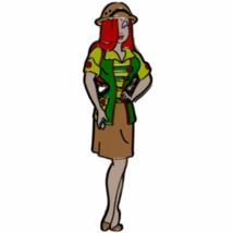 Disney Pin 93761 Wdi Dca Jessica Bug's Land Disfraz de Azafata Fundido Miembro - $108.89