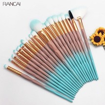 Rancai® 20pcs/Lot Diomand Makeup Brushes Set Powder Eye Shadow Foundation - €14,41 EUR