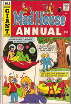 Mad House Annual Comic Book #9, Archie 1971-72 FINE - $9.74