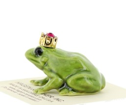 Birthstone Frog Prince January Simulated Garnet Miniatures by Hagen-Renaker image 2