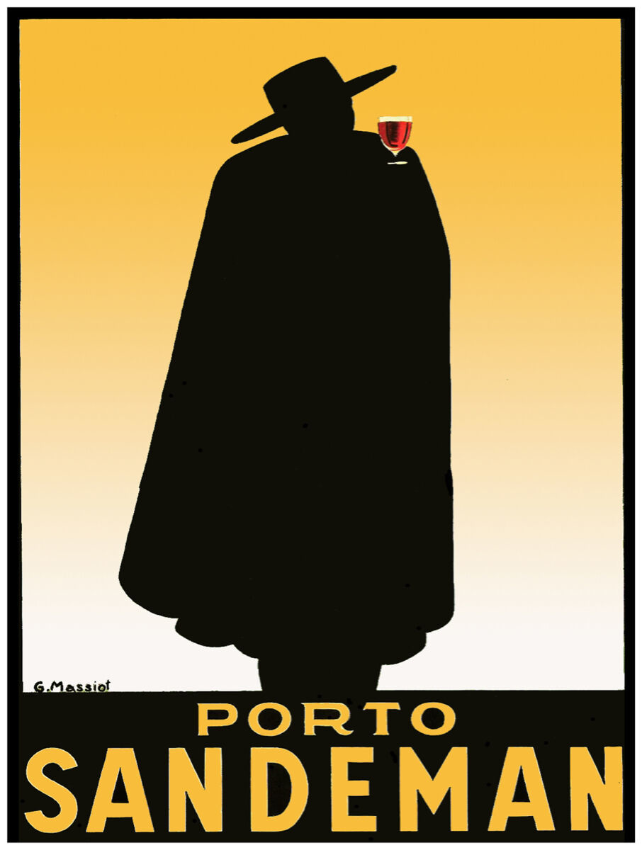 "24x36""Poster Decor.Home Room Interior design.Porto Sandeman red wine.10570"