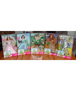WIZARD OF OZ BARBIE DOLL COLLECTION FROM 1999 SET OF 5 - $165.00