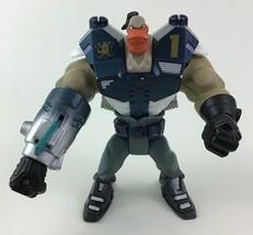 "Grin Extreme Battle Nitro Fist The Mighty Ducks 6"" Figure Mattel Vintage 1996 - $15.99"