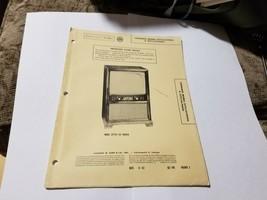 Vintage Photofact Folder Parts Manual - b1 - Coronado 25TV2 - 9045A - $6.92