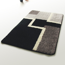 Naomi [Modern] Wool Throw Rugs (17.7 by 25.6 inches) - $24.89