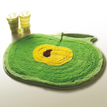 Naomi [Green Apple] Kids Room Rugs (20.9 by 22 inches) - $15.99